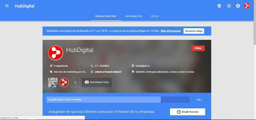 MY BUSINESS | HUB DIGITAL